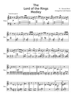 The Lord of the Rings Medley-Beginner | MuseScore
