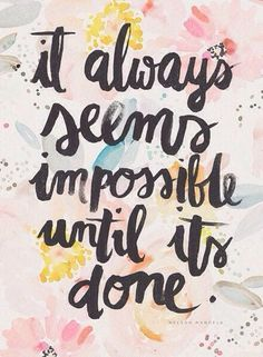 #quote #inspiration #impossible #done #work