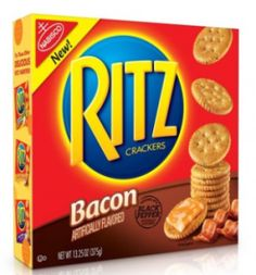 Because it's never too late to go the bacon route, Ritz crackers is stepping onto the bacon train, ticket in hand. The Nabisco cracker company has announced that they just released their new bacon-flavored Ritz Crackers with black pepper seasoning. Free Stuff By Mail, Get Free Stuff, Free Mail, Cracker Brands, Freebies By Mail, Ritz Crackers, Butter Crackers, Free Boxes, Packaging