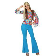Déguisement Hippie Flower Femme #déguisementsadultes #costumespouradultes #nouveauté2015