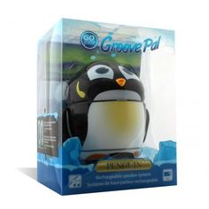 GOgroove Groove Pal Penguin Speaker with Rechargeable Battery 63% off! #ad #penguin