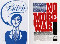 John Alcorn (1960s); Herb Lubalin (1960s) | Flickr - Photo Sharing! Herb Lubalin, Collage Illustration, Graphic Illustration, Seymour Chwast, 1960s Style, One Design, Graphic Designers, Editorial Design, Typography Design