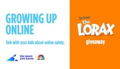 Growing Up Online Free eBook & The Lorax Blu-ray Giveaway