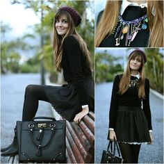 Like a schoolgirl (by Marianela Yanes) http://lookbook.nu/look/4322269-Like-a-schoolgirl