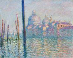 Monet - Le Grand Canal
