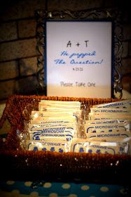 Designs by Sessa: Cutest Engagement Party Ever! - The DIY Details!