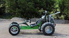 1977 Volkswagen Sandrail Dune Buggy presented as lot at Dallas, TX 2014 - Go Kart Buggy, Off Road Buggy, Kart Cross, Homemade Go Kart, Sand Rail, Karts, Drift Trike, Go Car, Beach Buggy