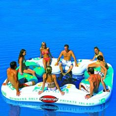 Fiesta Inflatable Island Float