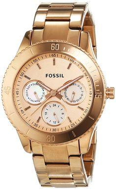 d137bae9cab1 Fossil ES2859 - Reloj analógico de cuarzo para hombre con correa de acero  inoxidable