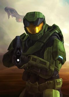 Master Chief Petty Officer John-117.