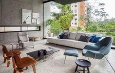 FGMF Arquitetos entwirft ein Betonhaus in São Paulo, Brasilien - Haus dekoration