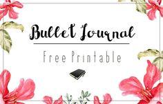 bullet journal free printable