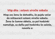 Vtip dňa : oslavic viročie sobaša - Spišiakoviny.eu