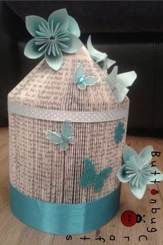Birdcage decorated in any colour and theme. £12 + p&p www.facebook.com/hellobuttonbug