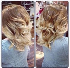 Blonde Ombre! I am doing this! Can't wait!