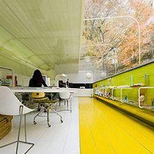 Les bureaux de Selgas Cano Architecture en Espagne