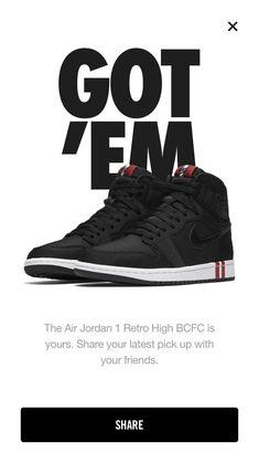049a109b04a93 Air Jordan 1 Retro HI OG PSG Paris Saint Germain BCFC Black Red White  Deadstock. Purchased through the Nike app.