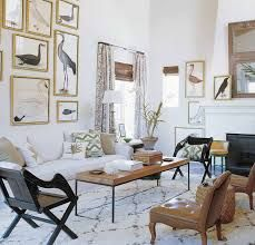Exotic Living Room - House & Home, Photo by William Waldron via Elle Decor Audubon Prints, Audubon Birds, Boho Home, Bird Prints, Tribal Prints, Elle Decor, Interiores Design, Game Room, Home And Living