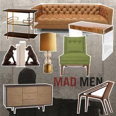 1964 Mad Men decor...I soooo want to do some retro decor!