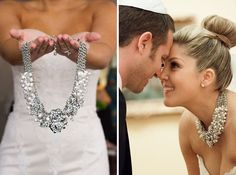 23 Fabulous Statement Necklaces for the Bride we ♥ this! moncheribridals.com #weddingjewelry #statementnecklace