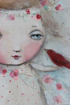 Art journal inspiration: k d milstein