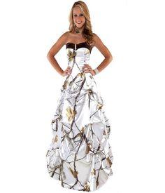 White Camo Prom Dresses | Women Dress Ideas
