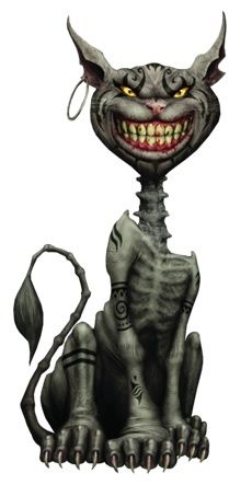Cheshire cat from the game Alice Madness Returns - currently working on it