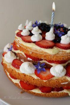 Il Mondo di Framm: Una torta per festeggiare il primo compleanno!
