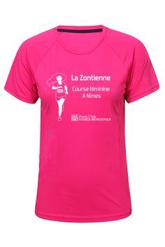 Visuel pour #flocage t-shirt la Zontienne réalisé par la #graphiste Julie Saba pour le Zonta Club de Nîmes