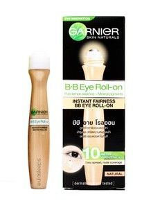 BB♥ EYE ROLL-ON INSTANT FAIRNESS BY ♥GARNIGR♥HELP YOUR DARK CIRCLES AND EYEBAGS♥The salmon color cancels out purple eyebags, brightening up the eyes and face nicely. The finish is dewy but not oily, very natural.