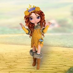 Fashion Doll: Ashton Drake Adventures in Oz Cowardly Lion Wizard of Oz Doll ** For more information, visit image link.