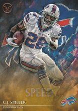 2014 Valor Football Speed #109 C.J. Spiller - Buffalo Bills