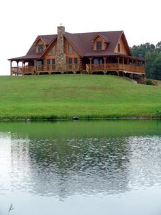 Wow!!! My family and dogs by my side, a log cabin on the lake ...............