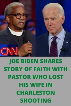 During a CNN Democratic town hall in Charleston, South Carolina, former Vice President Joe Biden addresses how he would use his faith to make decisions for the United States.