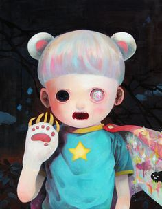 Hikari Shimoda - Children of this planet 4 - 2012 - Oil on canvas - 1167 × 910mm