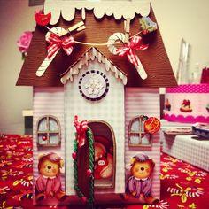 Caixinha decorada / little box decor / petit cadeaux hand made feitoamao fattoamano scrapingbook scrapbooking