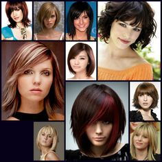 Mid Length Hair Style Inspiration