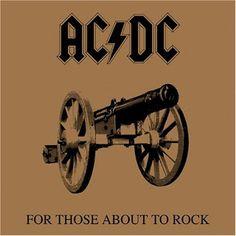 Para animar a sexta-feira, um pouco de AC/DC com o CD For Those About to Rock! Afinal, hoje é dia de Rock n' Roll! Confiram!