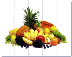 Fruits Desigsn On Decorative Ceramic Tiles Part 46