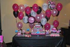 """Photo 1 of 19: Pink Zebra Spa / Birthday """"Madison's Spa Party and Sleepover""""   Catch My Party"""