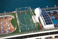 Crystal Serenity Paddle Tennis Court