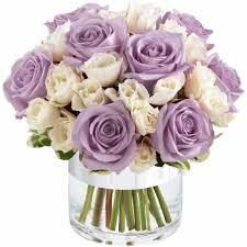 purple, lilac and cream wedding centerpieces - Google Search