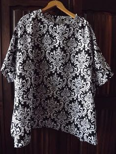Sewing a Black & White Top Sewing Blogs, Black And White Tops, Compliments, Sewing Patterns, Lace, Pretty, Outfits, Collection, Women
