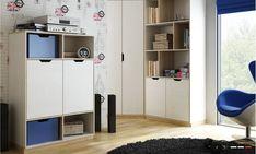 Biblioteca cu 2 usi Medium Happy 11, L89xl41xh126 cm #homedecor #inspiration #interiordesign #bedroom #decoration Sibu, Interior Modern, Household Items, Locker Storage, Entryway, Cabinet, Furniture, Design, Home Decor