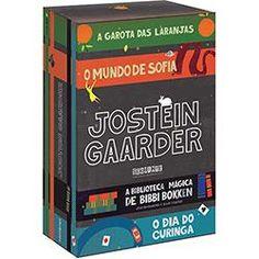 Livro - Box Jostein Gaarder (4 Volumes)