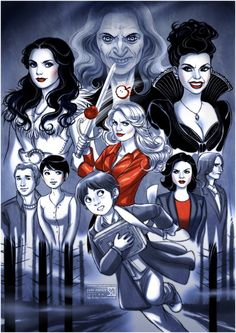 Once Upon A Time. Love this show! Watch it!