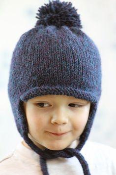 Berroco Ultra Alpaca pattern, free earflap hat pattern