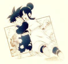 Gohan And Goten, Dbz, Dragon Ball Gt, Chi Chi, Collages, Dragonball Super, Fanart, Manga, Anime