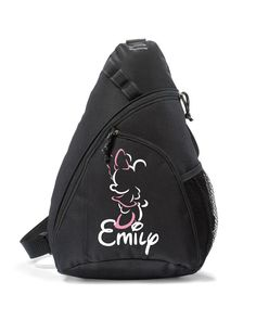 Disney Backpack,Minnie Mouse Bag,Personalized,Sling bag,Disney Bag,Minnie Mouse Sling Bag,Minnie Mouse,Disney Backpack,Minnie Backpack