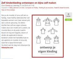 www.littlestylist.com: de webshop voor de allerjongste modeontwerpster op hobby.blogo.nl.  Meisjeskleding: customize hier je eigen jurk, tuniek of schooltas.